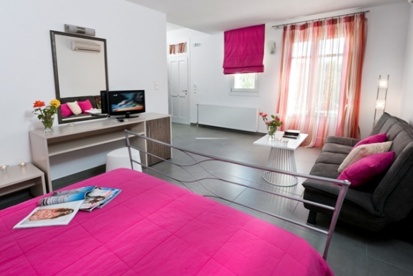 Deluxe double room for 2-3 people